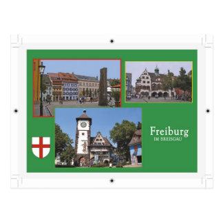 Freiburg Postkarte