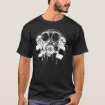 Freie Gasmaske des Hip-Hopsaugers T-Shirt