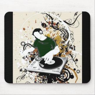 freie Grafik DJ vektor Mousepads