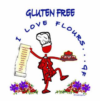 Freie I Liebe-Mehle des Gluten- Freistehende Fotoskulptur