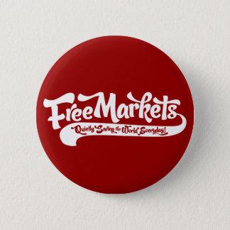 Freie Markt-Knopf Runder Button 5,7 Cm