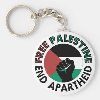 Freie Palästina-Enden-Apartheids-Palästina-Flagge Schlüsselanhänger