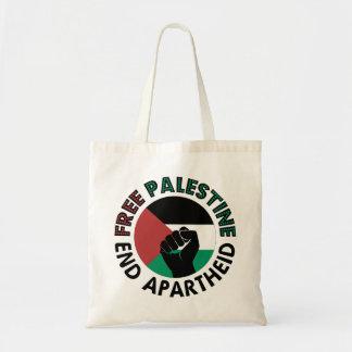 Freie Palästina-Enden-Apartheids-Palästina-Flagge Tragetasche