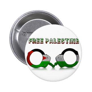 Freie Palästina-Handschellen Button