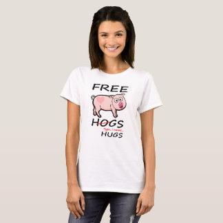 Freie Schweine und Umarmungen T-Shirt