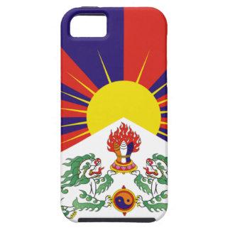 Freie Tibet-Flagge iPhone 5 Etui