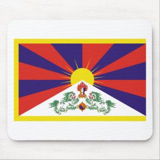 Freie Tibet-Flagge Mousepad