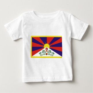 Freie Tibet-Flagge - Peu Rangzen བོད ་ རང ་ བཙན ་ Baby T-shirt