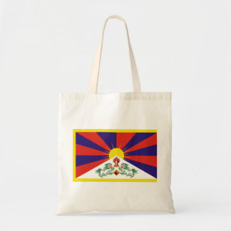 Freie Tibet-Flagge - Peu Rangzen བོད ་ རང ་ བཙན ་ Tragetasche