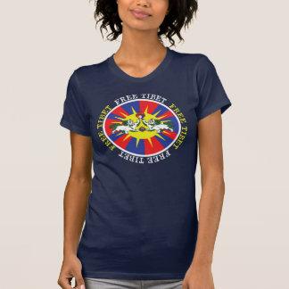 Freie Tibet-Schnee-Löwen und T-Shirt