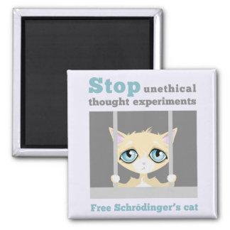 Freien Schrodingers Katze Quadratischer Magnet