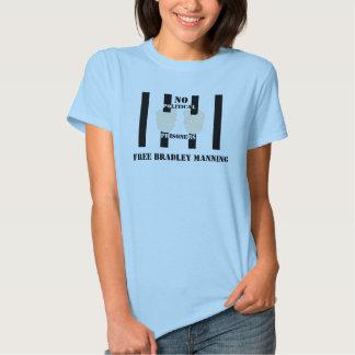 FREIER BRADLEY, der Baby - Puppen-Shirt BEMANNT T Shirt