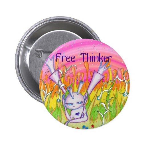 Freier Denker Buttons