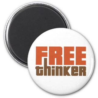 Freier Denker Kühlschrankmagnete