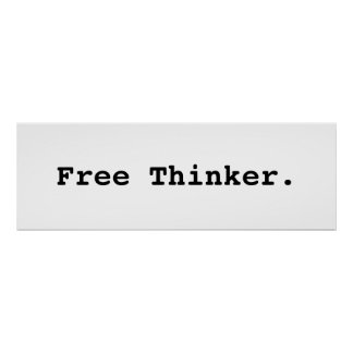 Freier Denker. Plakat