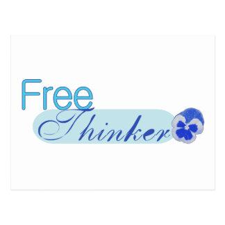 Freier Denker Postkarte
