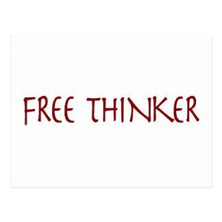 Freier Denker Postkarten