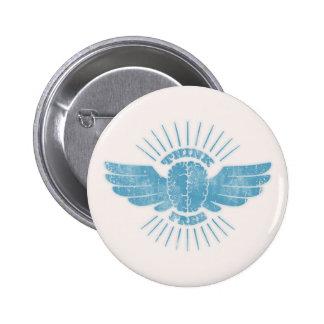 Freier Denker Runder Button 5,7 Cm