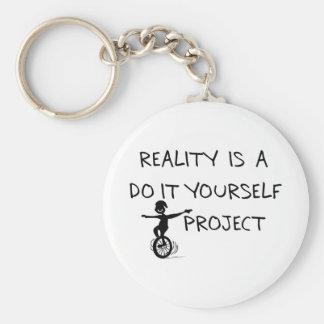 Freier Denker Standard Runder Schlüsselanhänger