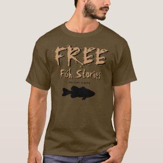Freier Fisch-Geschichten-T - Shirt