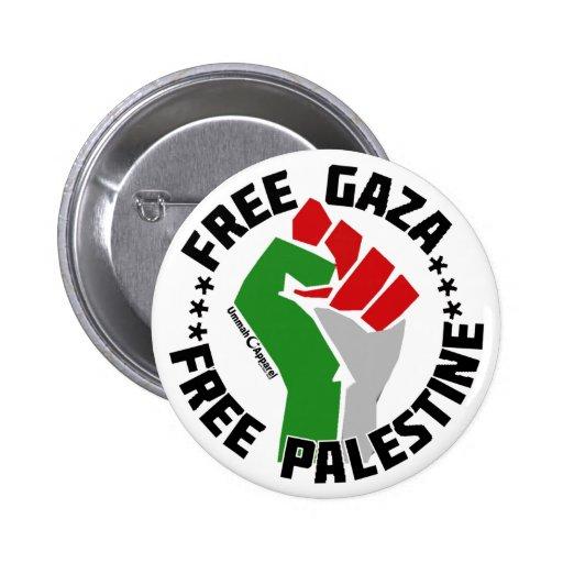 freier Gaza geben Palästina frei Button