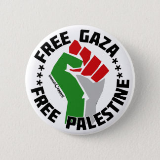 freier Gaza geben Palästina frei Runder Button 5,1 Cm