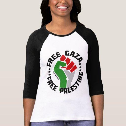 freier Gaza geben Palästina frei Tshirt