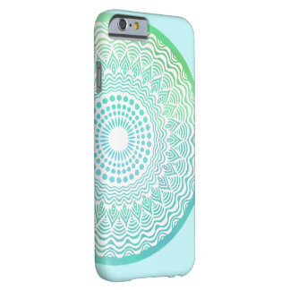 Freier Mandala iPhone Fall der Barely There iPhone 6 Hülle
