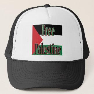 Freier Palästina-Entwurf Truckerkappe
