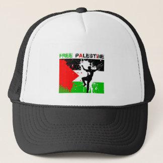 freier Palästina-Hut Truckerkappe