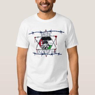 Freier Palästina-Israeli-Draht Tshirt