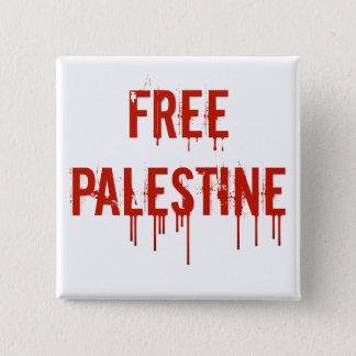 Freier Palästina-Knopf Quadratischer Button 5,1 Cm