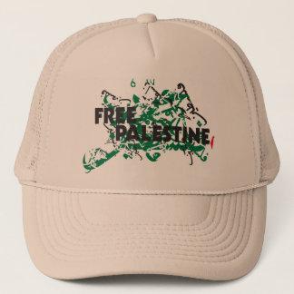 Freier Palästinakhakis-Hut Truckerkappe
