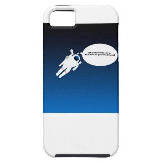 Freier sich hin- und herbewegender Astronaut im Hülle Fürs iPhone 5