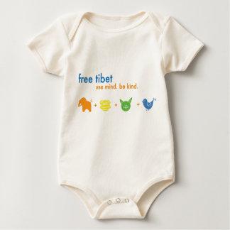 Freier starker Säugling Tibets Baby Strampler
