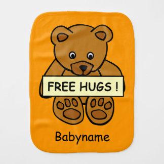 Freier Umarmungs-Teddybär kundenspezifischer Spucktuch