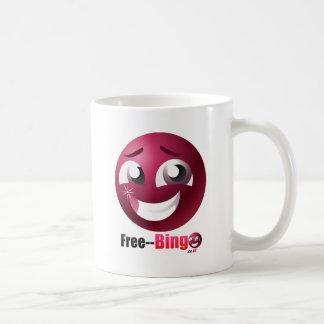 Freies Bingo-Maskottchen u. Logo Tasse