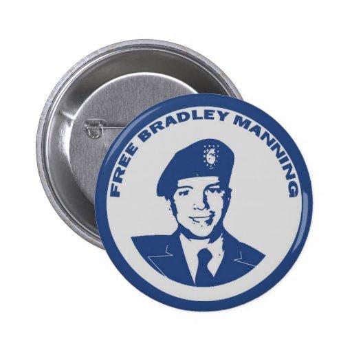 FREIES Bradley-Bemannen Buttons