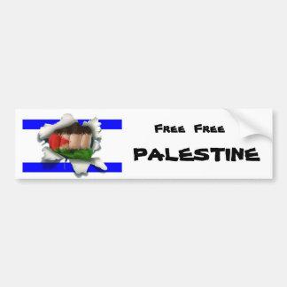 Freies freies Palästina Autoaufkleber