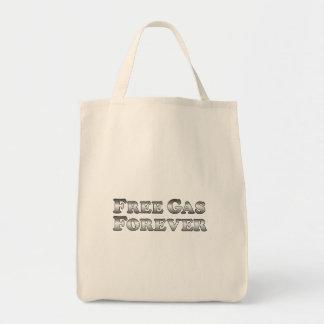 Freies Gas für immer - grundlegend Einkaufstasche