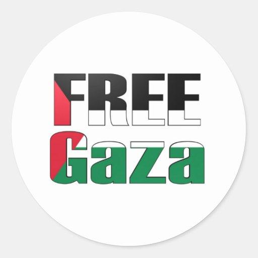 Freies Gaza Aufkleber
