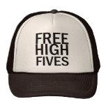 Freies hohes Fives Retro Cap