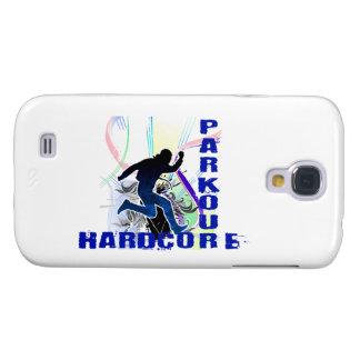 Freies laufendes Parkour hardcore Galaxy S4 Hülle