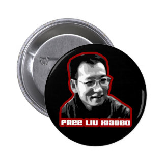 Freies Liu Xiaobo Anstecknadelbuttons