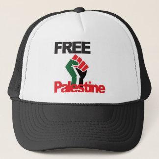 Freies Palästina - فلسطينعلم - palästinensische Truckerkappe
