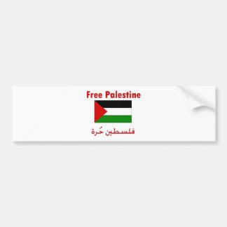 Freies Palästina Autoaufkleber