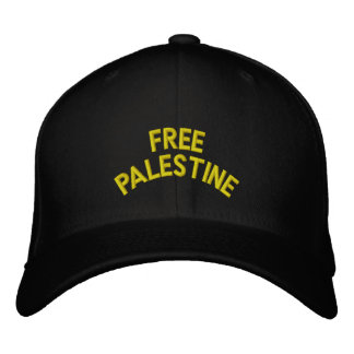 Freies Palästina: Kundenspezifische Baseballmütze Bestickte Kappe