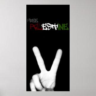 Freies Palästina-Plakat Poster