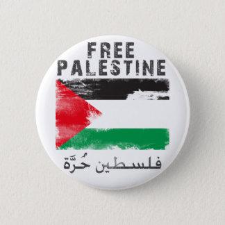 Freies Palästina Runder Button 5,7 Cm