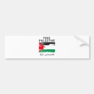 Freies Palästina-Shirt Autoaufkleber